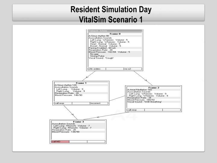 Resident Simulation Day