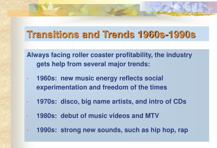 Always facing roller coaster profitability, the industry gets help from several major trends:
