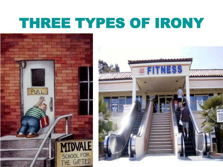 three types of irony n.