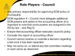 role players council
