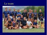 le team