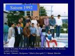 saison 1992