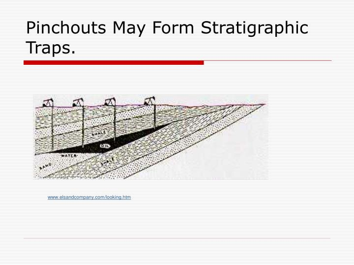 Pinchouts May Form Stratigraphic Traps.