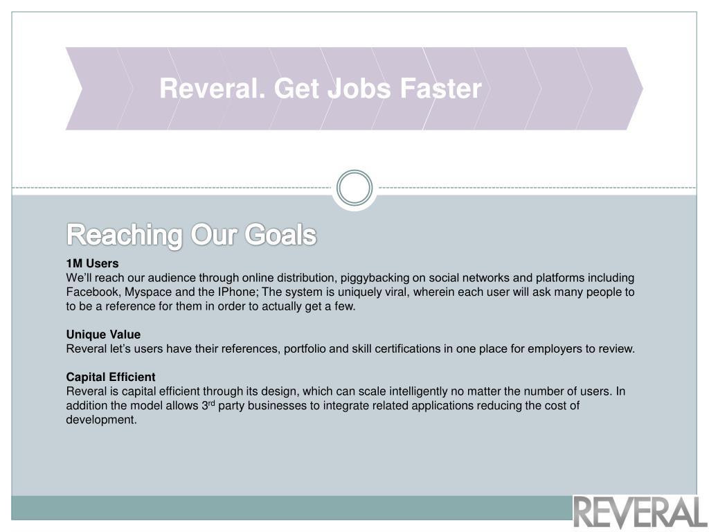Reveral. Get Jobs Faster