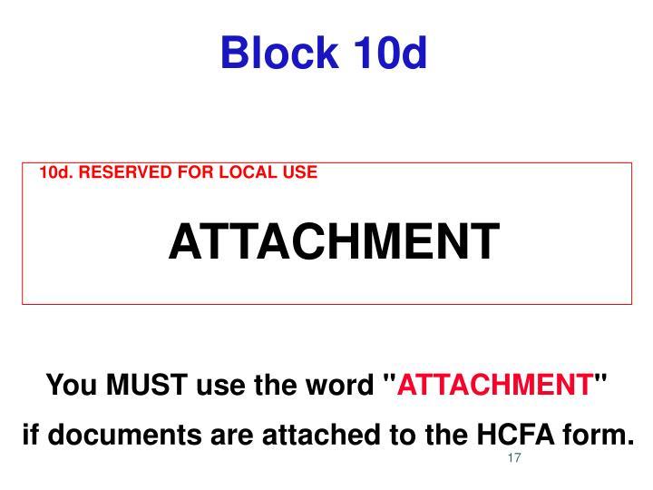Block 10d