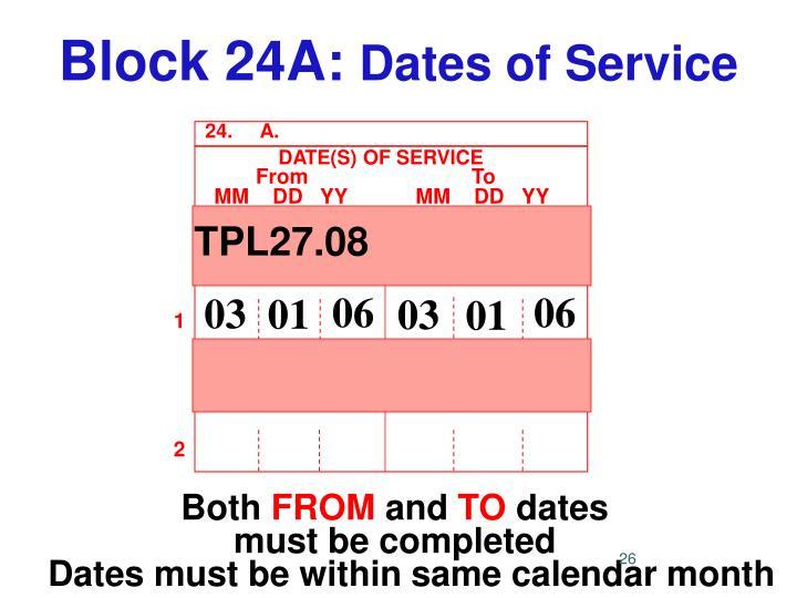 Block 24A