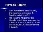 move to reform