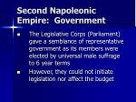 second napoleonic empire government4