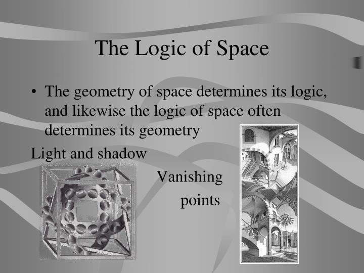 The Logic of Space