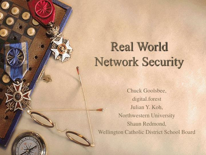 real world network security n.
