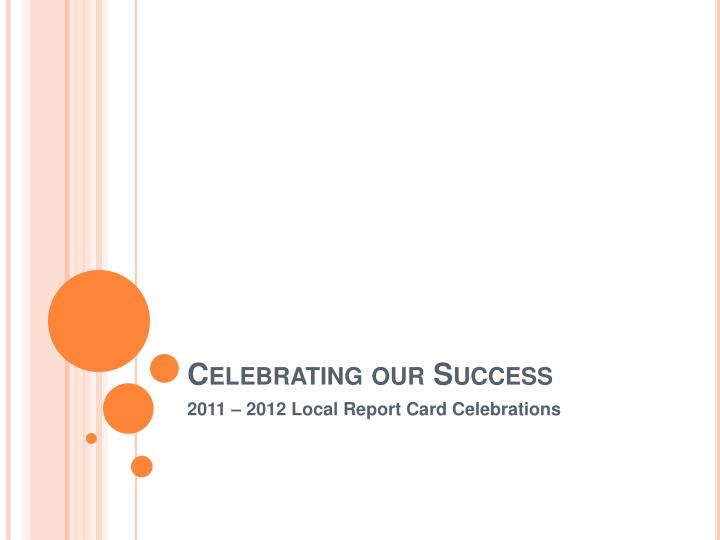 celebrating our success n.