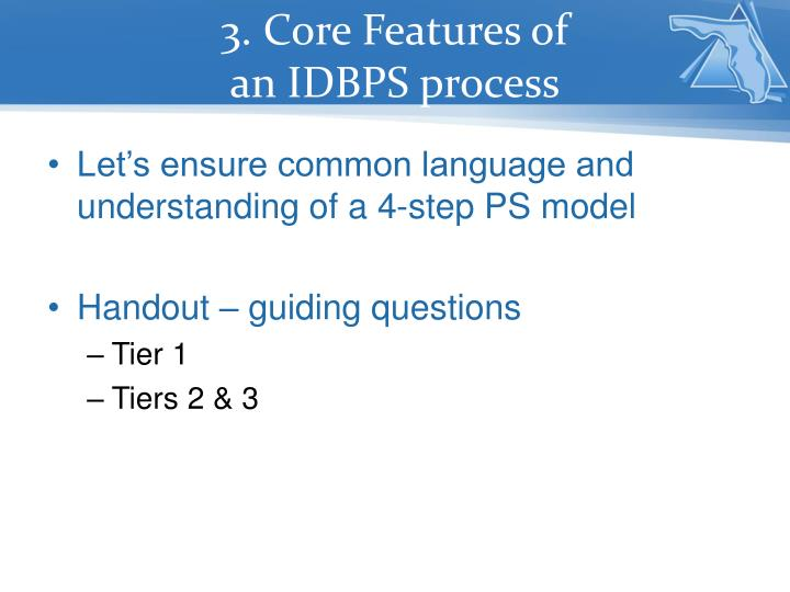 3. Core Features of