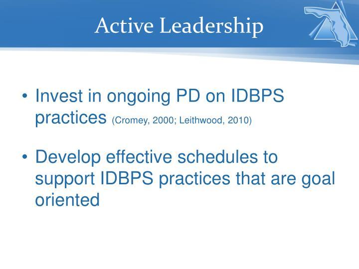 Active Leadership