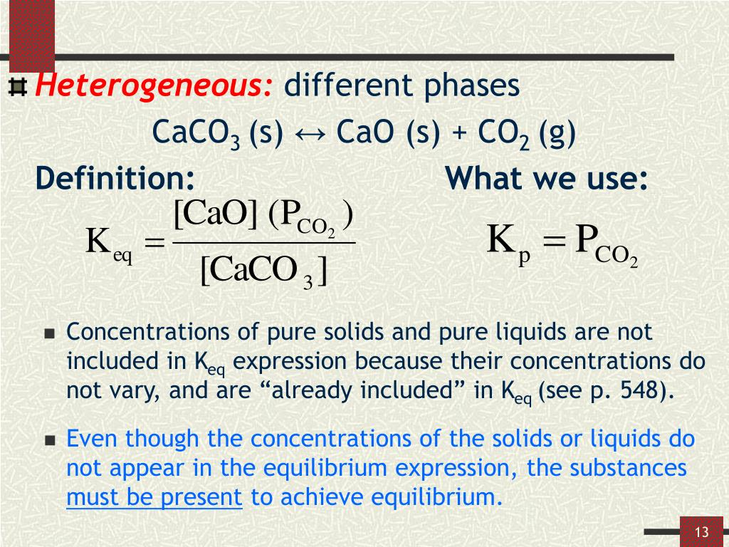 PPT - Chemical Equilibrium PowerPoint Presentation - ID:1061444