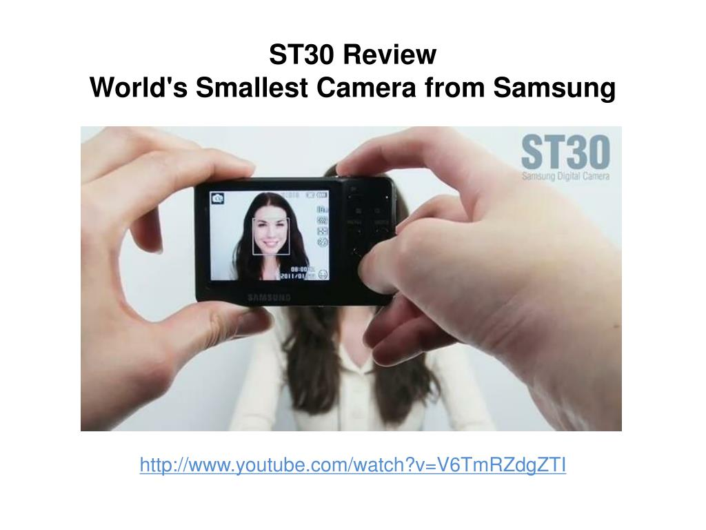 st30 review world s smallest camera from samsung