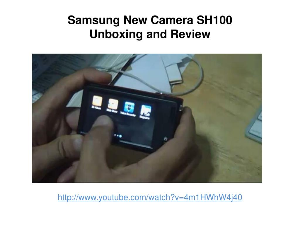 Samsung New Camera SH100