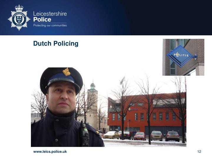 Dutch Policing