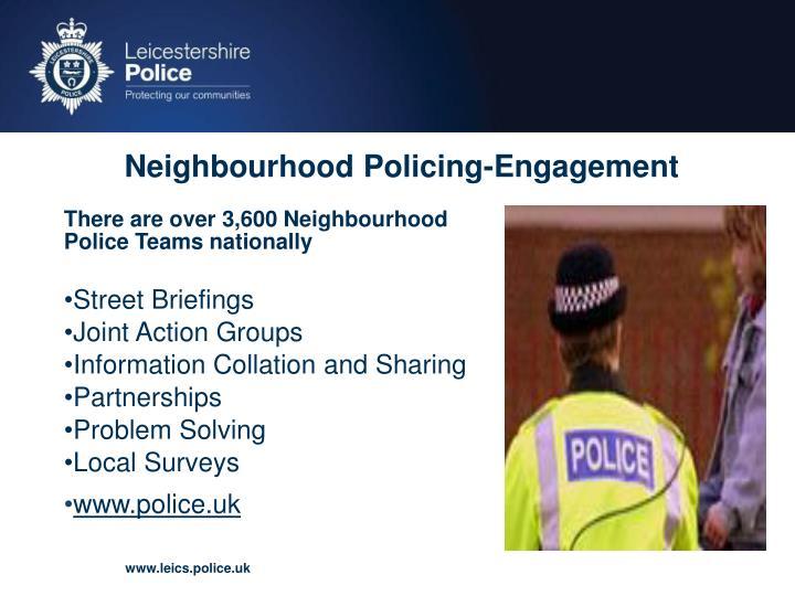 Neighbourhood Policing-Engagement