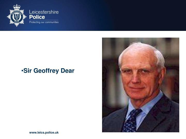 Sir Geoffrey Dear