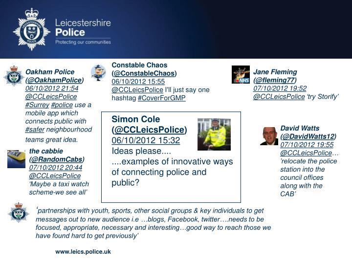Constable Chaos (