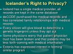 icelander s right to privacy