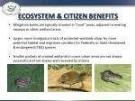 ecosystem citizen benefits