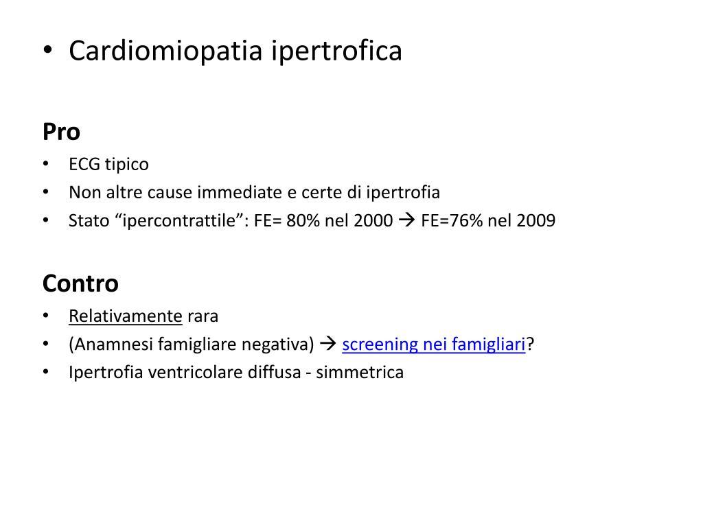 PPT - Scompenso cardiaco con FE conservata caso clinico..