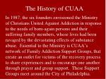 the history of cuaa
