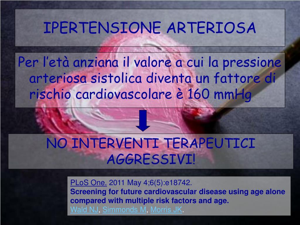 PPT - PAZIENTE ANZIANO E FATTORI DI RISCHIO PowerPoint..