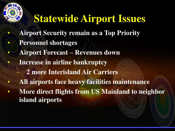 Airport Security remain as a Top Priority