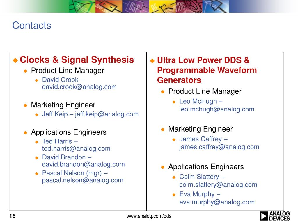 PPT - ADI Signal Generation PowerPoint Presentation - ID:1062571