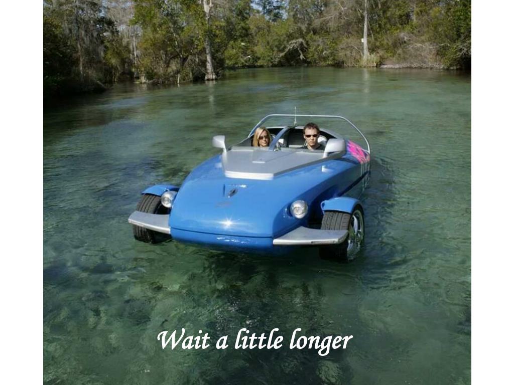 Wait a little longer