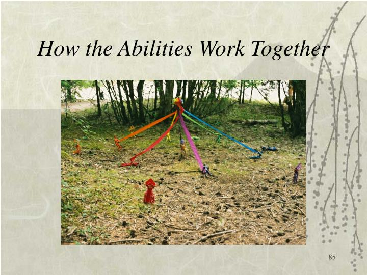 How the Abilities Work Together