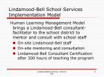 lindamood bell school services implementation model