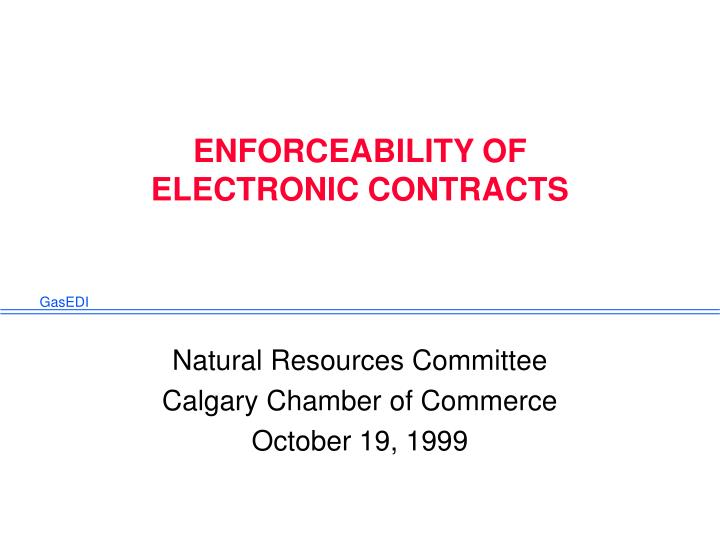 enforceability of electronic contracts n.