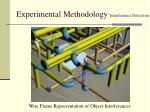 experimental methodology interference detection