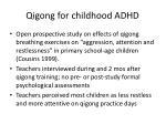 qigong for childhood adhd