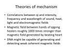 theories of mechanism1