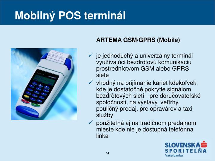Mobilný POS terminál