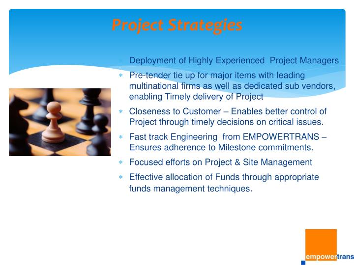 Project Strategies