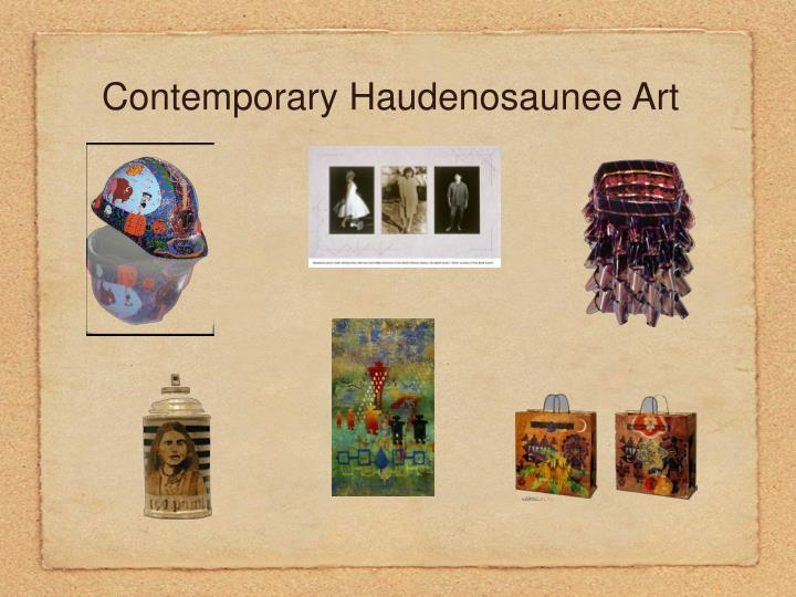 Contemporary Haudenosaunee Art