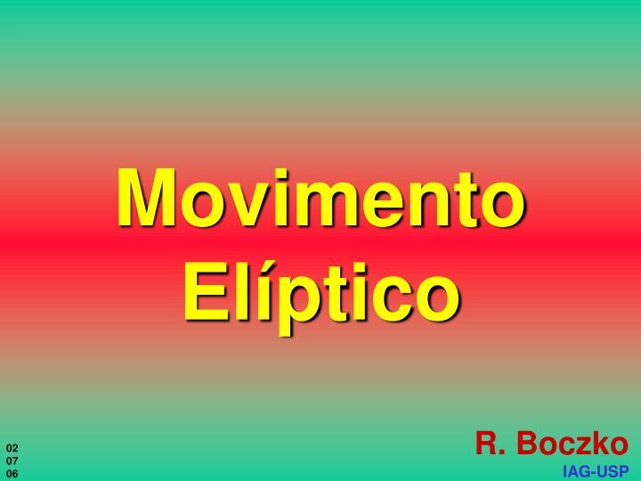 movimento el ptico
