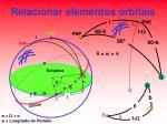relacionar elementos orbitais