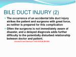 bile duct injury 2
