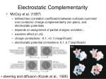 electrostatic complementarity