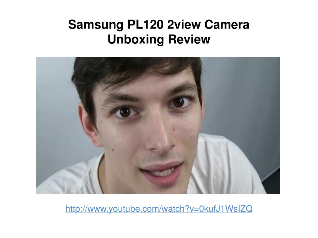 samsung pl120 2view camera unboxing review l.