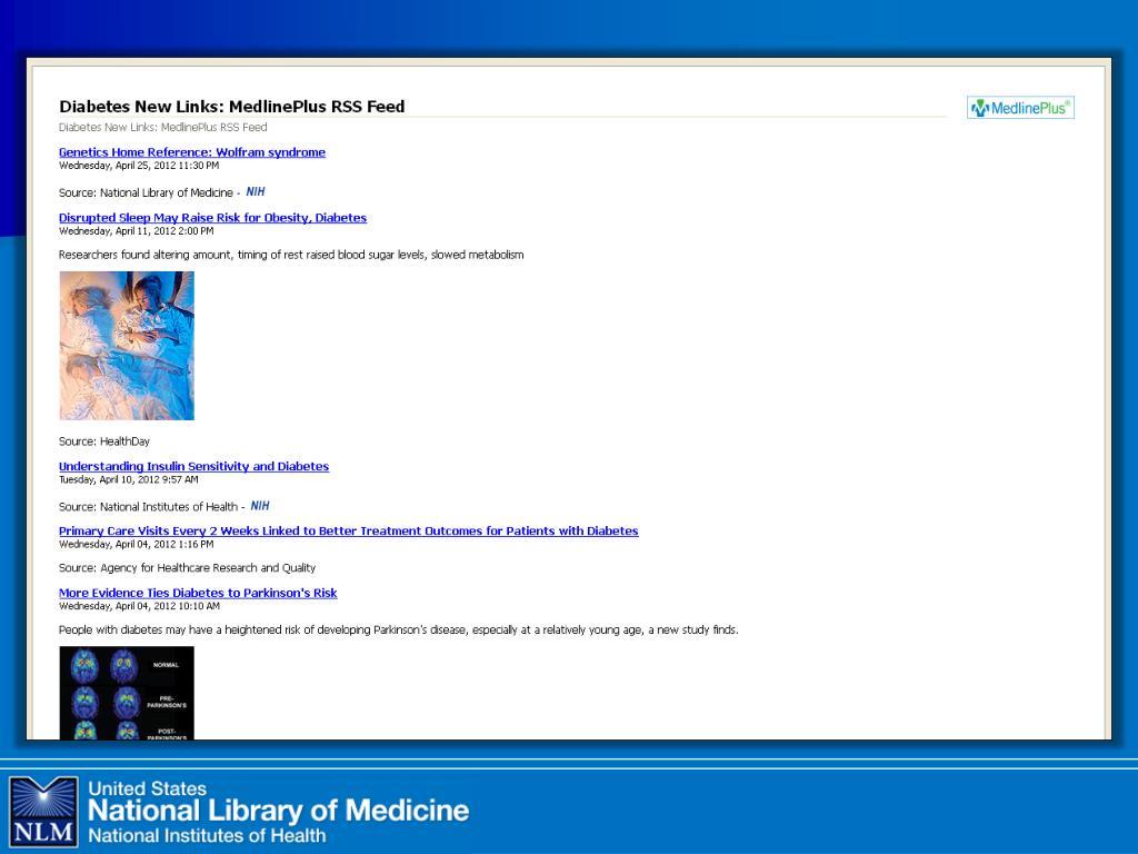 diabetes 2 medlineplus