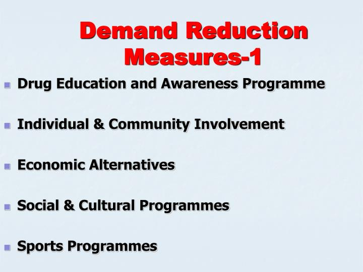 Demand Reduction Measures-1