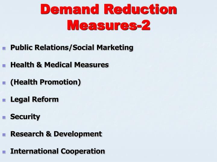 Demand Reduction Measures-2