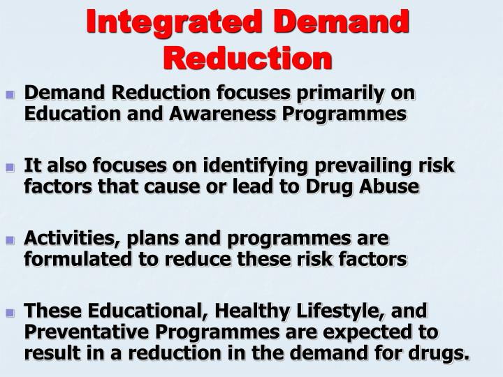 Integrated Demand Reduction